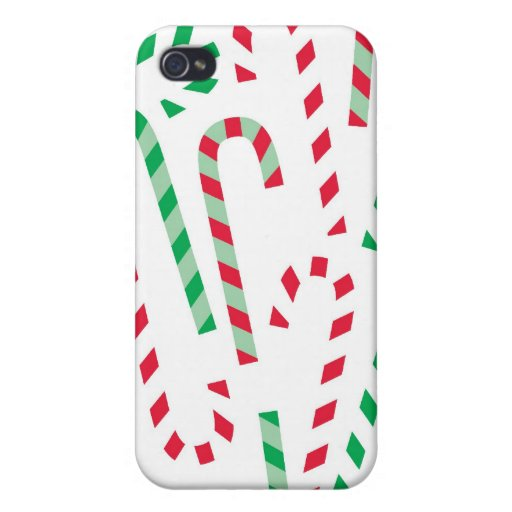 Christmas Candy Cane iPhone Case Cover For iPhone 4