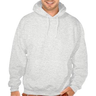 Christmas Candy Cane Hooded Sweatshirts