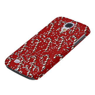 Christmas candy canes Samsung Galaxy cover Galaxy S4 Case