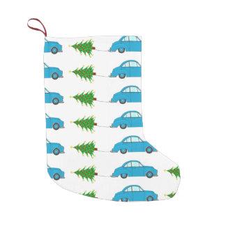 Christmas car towing tree