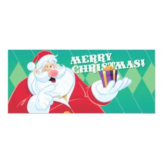 Christmas Card 10 Cm X 24 Cm Invitation Card