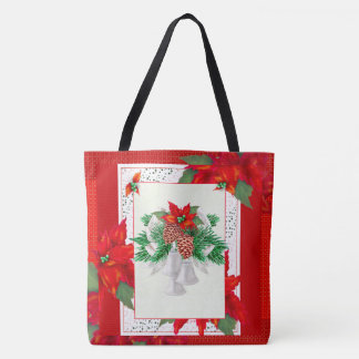 CHRISTMAS card 2 TOTE CUTE CARTOON TOTE BAG 2