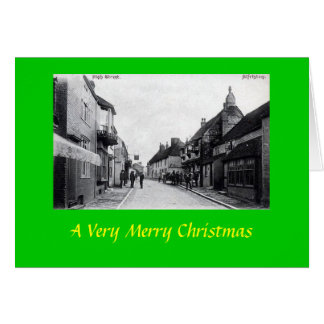 Christmas Card, Alfriston, Sussex