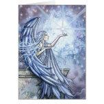 Christmas Card Angel and Star