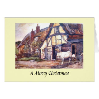 Christmas Card - Aston Cantlow, Warwickshire