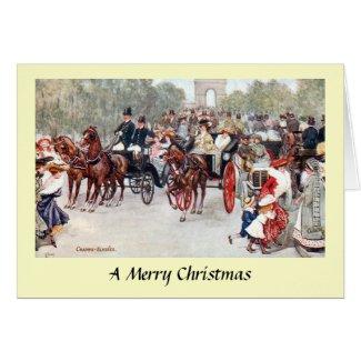 Christmas Card - Avenue des Champs-Élysées, Paris