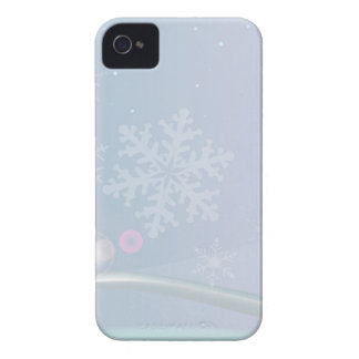 Christmas Card Backdrop iPhone 4 Case-Mate Case