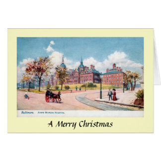 Christmas Card - Baltimore, Maryland