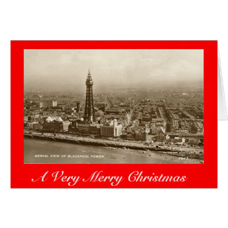 Christmas Card, Blackpool Greeting Card