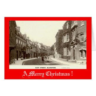 Christmas Card, Blandford Forum Greeting Card
