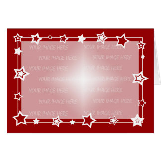 Christmas Card Border Template Horizontal