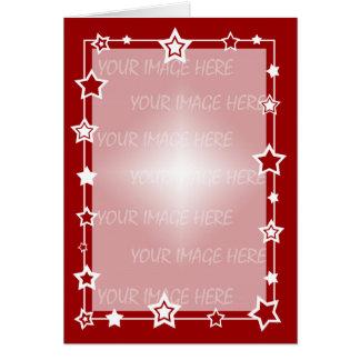 Christmas Card Border Template Vertical