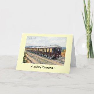 Christmas Card - Brighton Belle