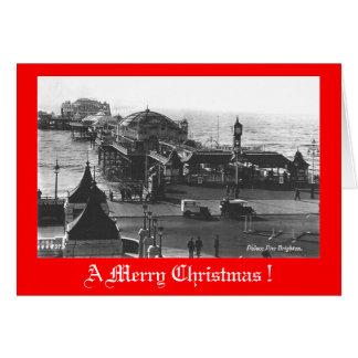 Christmas Card, Brighton Pier Card