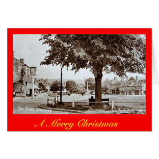 Christmas Card, Broadway, Worcestershire Greeting Card