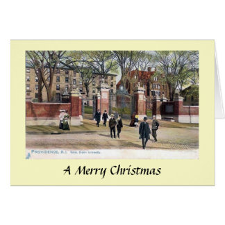 Christmas Card - Brown University, Providence, RI