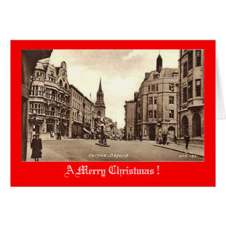 Christmas Card, Carfax, Oxford