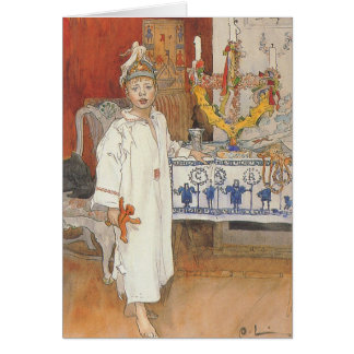 Christmas card - Carl Larsson