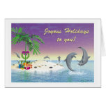 """Christmas Card - """"Desert Isle Christmas"""""""