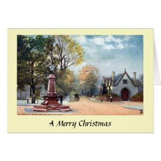 Christmas Card - Dulwich, London