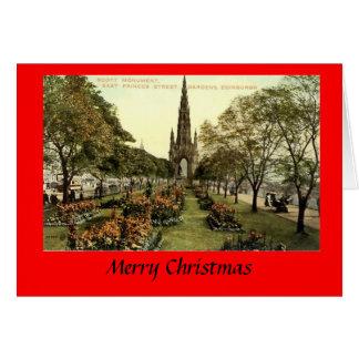 Christmas Card - Edinburgh, Princes Street