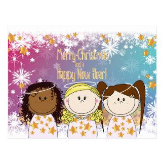 Christmas card - Engeltjes and Bengeltjes - fairy