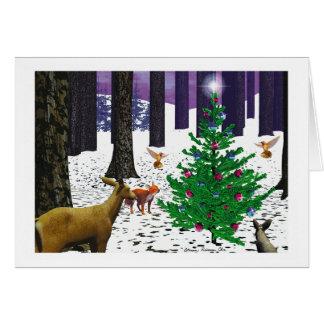 """Christmas Card - """"Enjoy the Magic"""""""