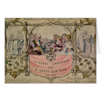 Christmas Card, example of the known Christmas