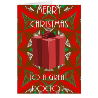 Christmas Card For Doctor