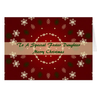 Christmas Card For Foster Daughter