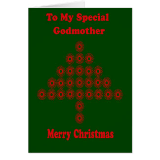 Christmas Card For Godmother