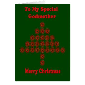 Christmas Card For Godmother