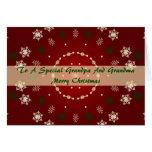 Christmas Card For Grandpa And Grandma
