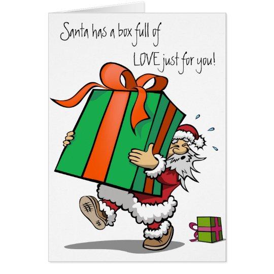 Christmas Card full of Love