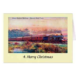 Christmas Card - Great Eastern Railway