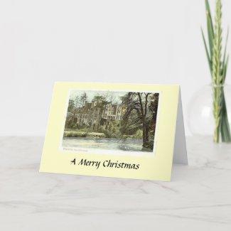 Christmas Card - Guy's Cliff, Warwick