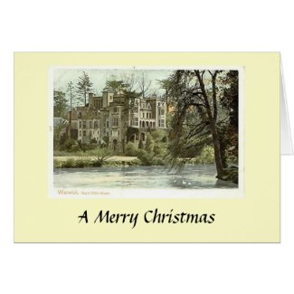 Christmas Card - Guy's Cliff, Warwick