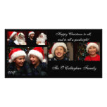 Christmas Card - Happy Christmas to All... Photo Card Template