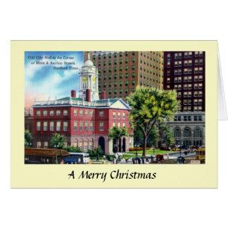 Christmas Card - Hartford, Connecticut