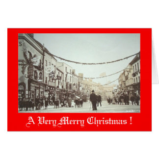 Christmas Card, High Street, Stratford-upon-Avon
