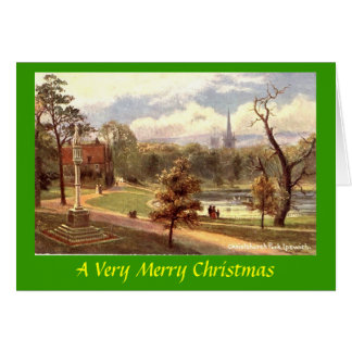 Christmas Card - Ipswich, Suffolk