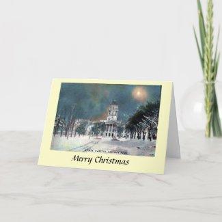 Christmas Card - Lincoln, Nebraska, USA