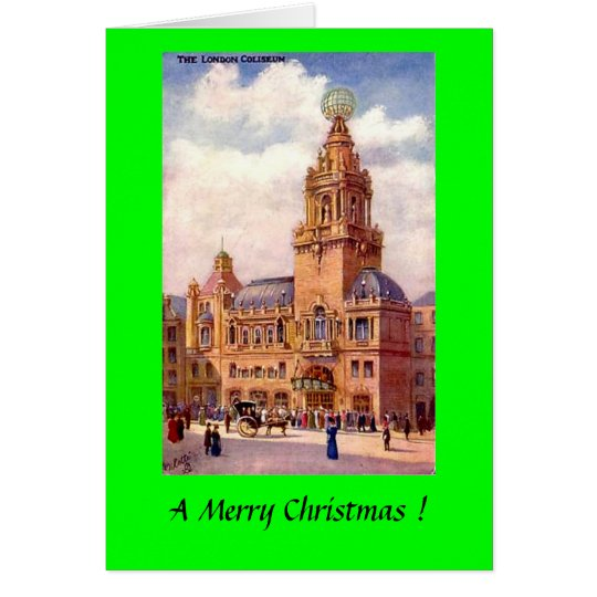 Christmas Card - London Coliseum