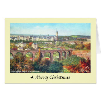 Christmas Card - Luxembourg