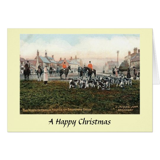 Christmas Card - N Cotswold Hounds