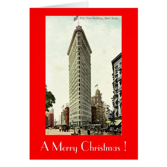 Christmas Card, New York City Card