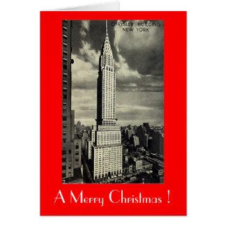 Christmas Card, New York City Greeting Card