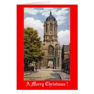 Christmas Card, Oxford Greeting Card