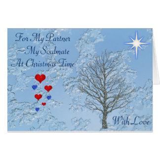 Christmas Card Partner/Soulmate