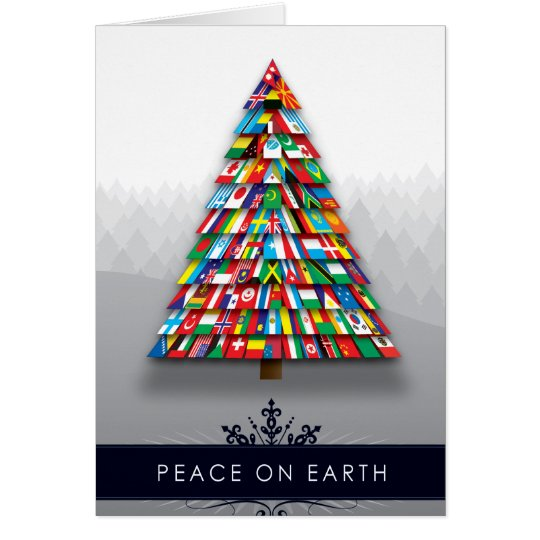 Christmas Card: Peace on Earth Card